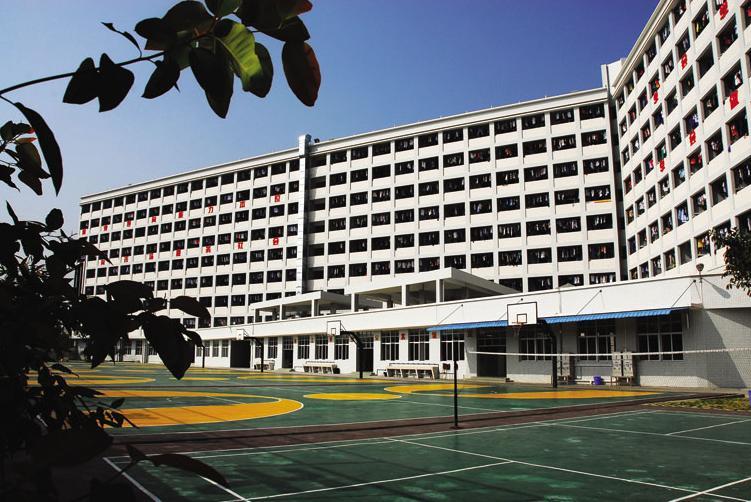 广州白云工商高级技工学校环境图片展示