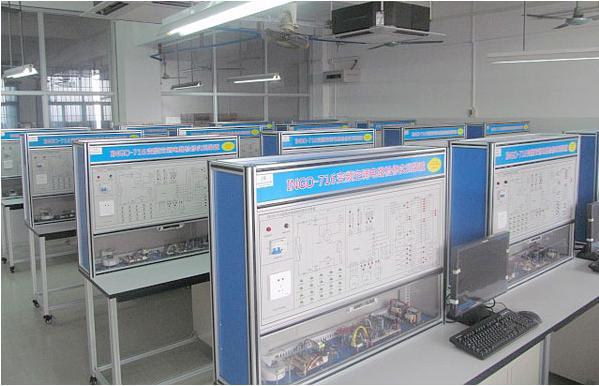 广州白云工商高级技工学校机电工程学院 系 实训场室图片展示
